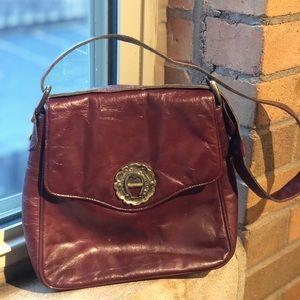 Vintage Etienne Aigner leather handbag